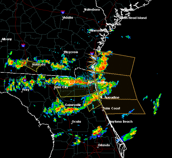 Radar Image for Severe Thunderstorms near Macclenny, FL at 8/7/2015 3:17 PM EDT
