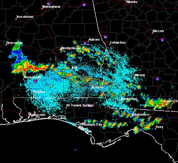 Radar Image for Severe Thunderstorms near Enterprise, AL at 8/7/2015 2:40 PM CDT