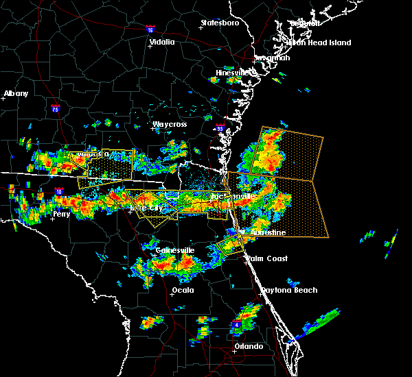 Radar Image for Severe Thunderstorms near Macclenny, FL at 8/7/2015 3:46 PM EDT
