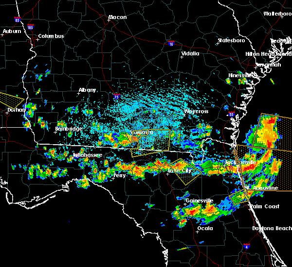 Radar Image for Severe Thunderstorms near Valdosta, GA at 8/7/2015 3:49 PM EDT