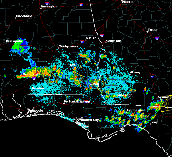 Radar Image for Severe Thunderstorms near Ozark, AL at 8/7/2015 3:13 PM CDT