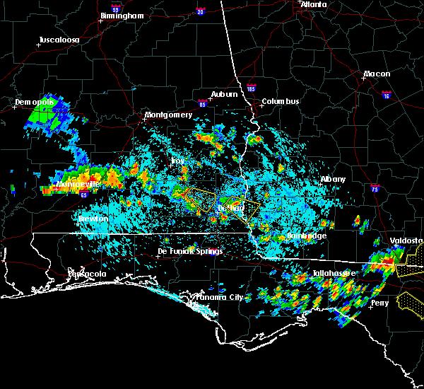 Radar Image for Severe Thunderstorms near Daleville, AL at 8/7/2015 3:19 PM CDT