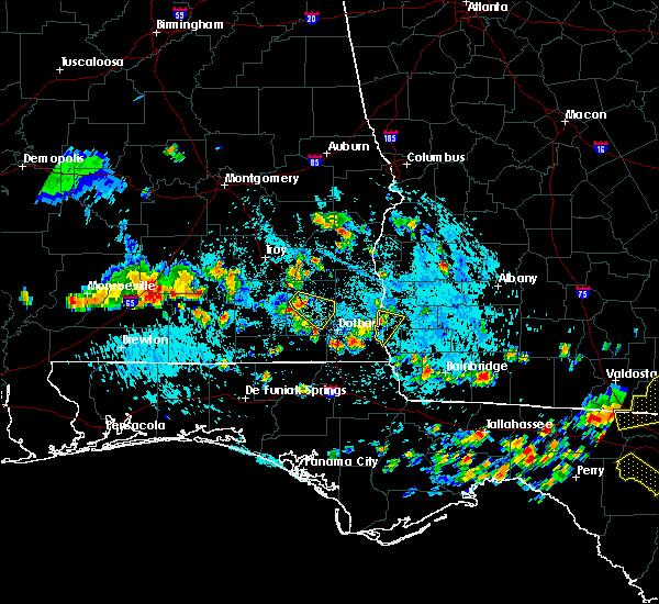 Radar Image for Severe Thunderstorms near Cedar Springs, GA at 8/7/2015 4:26 PM EDT