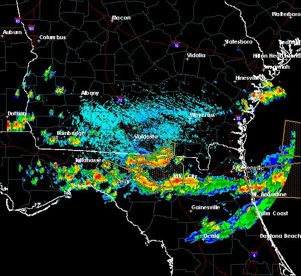 Radar Image for Severe Thunderstorms near Jasper, FL at 8/7/2015 4:38 PM EDT