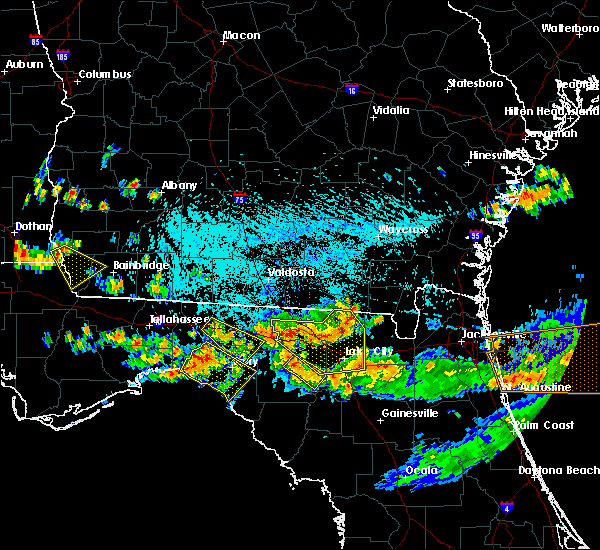 Radar Image for Severe Thunderstorms near Branford, FL at 8/7/2015 4:54 PM EDT