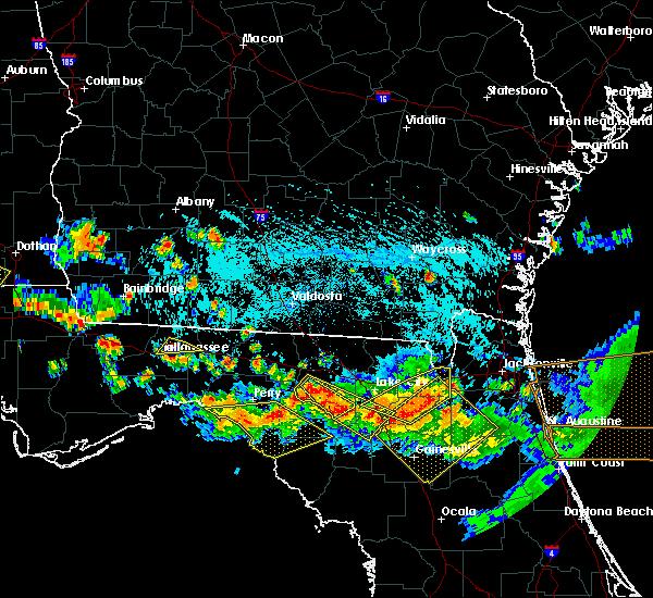 Radar Image for Severe Thunderstorms near Branford, FL at 8/7/2015 5:44 PM EDT