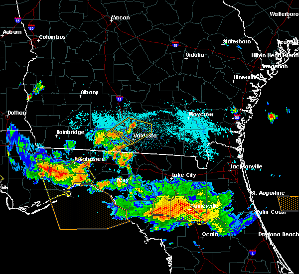 Radar Image for Severe Thunderstorms near Morven, GA at 8/7/2015 6:58 PM EDT