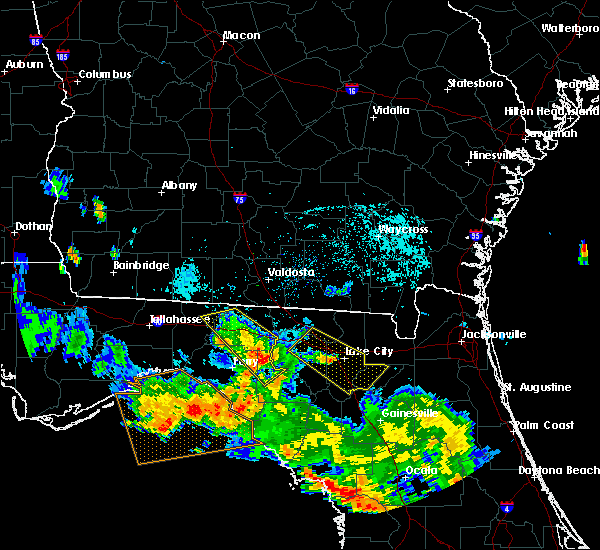 Radar Image for Severe Thunderstorms near Day, FL at 8/7/2015 8:16 PM EDT