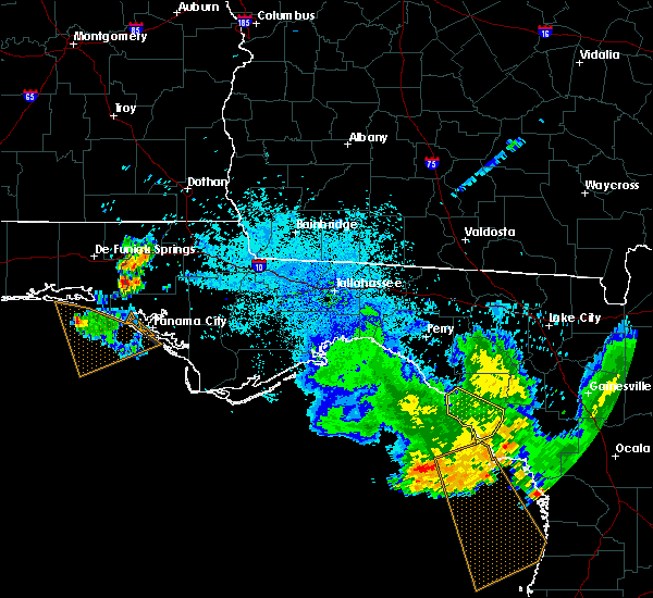Radar Image for Severe Thunderstorms near Cross City, FL at 8/7/2015 9:39 PM EDT