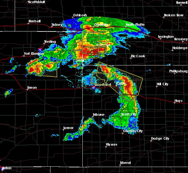 Radar Image for Severe Thunderstorms near Imperial, NE at 8/7/2015 8:01 PM MDT
