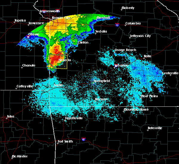 Radar Image for Severe Thunderstorms near Gerster, MO at 8/8/2015 8:25 AM CDT