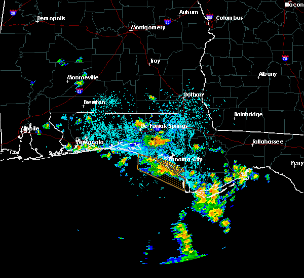 Radar Image for Severe Thunderstorms near Panama City, FL at 8/8/2015 1:28 PM CDT