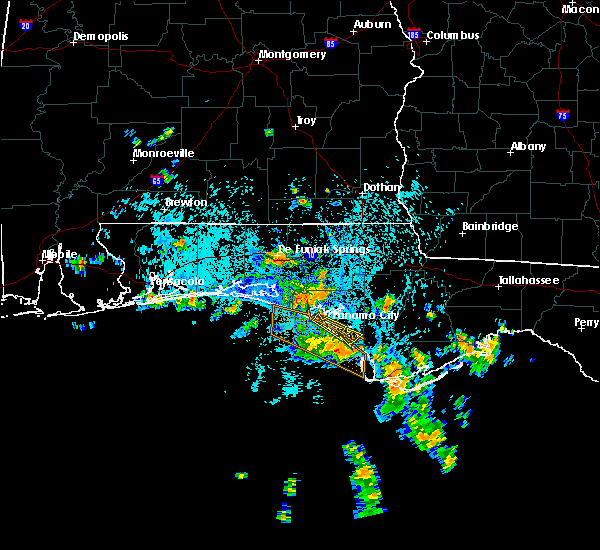 Radar Image for Severe Thunderstorms near Panama City, FL at 8/8/2015 1:47 PM CDT