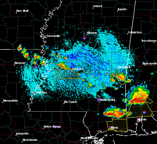 Radar Image for Severe Thunderstorms near Richland, MS at 8/8/2015 5:10 PM CDT