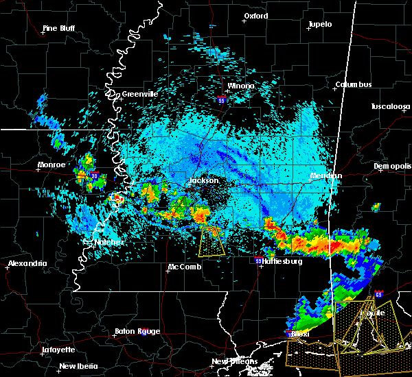 Radar Image for Severe Thunderstorms near Prentiss, MS at 8/8/2015 6:24 PM CDT