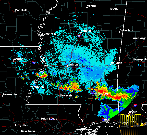 Radar Image for Severe Thunderstorms near Arnold Line, MS at 8/8/2015 7:06 PM CDT