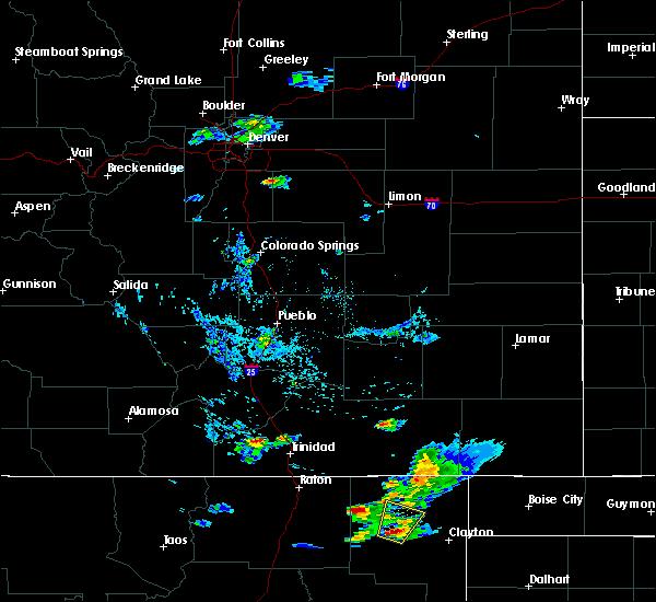 Radar Image for Severe Thunderstorms near Grenville, NM at 8/9/2015 7:02 PM MDT