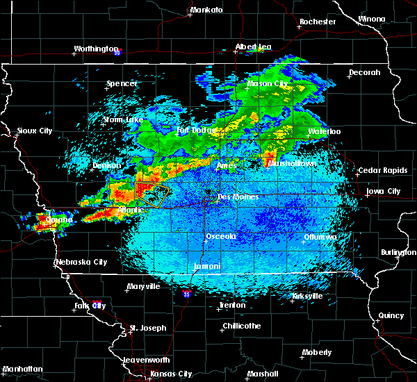 Radar Image for Severe Thunderstorms near Guthrie Center, IA at 8/9/2015 11:59 PM CDT