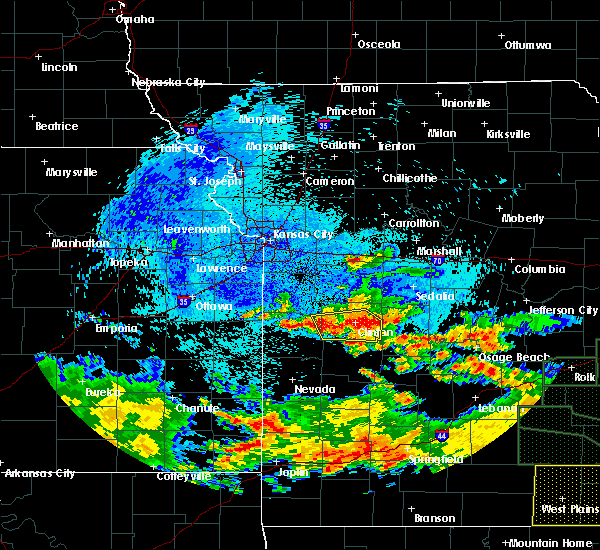 Radar Image for Severe Thunderstorms near Appleton City, MO at 8/10/2015 5:30 AM CDT