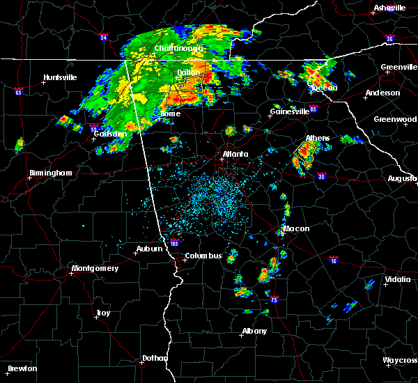 Radar Image for Severe Thunderstorms near Watkinsville, GA at 8/10/2015 3:58 PM EDT