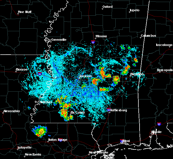 Radar Image for Severe Thunderstorms near Newton, MS at 8/10/2015 4:56 PM CDT