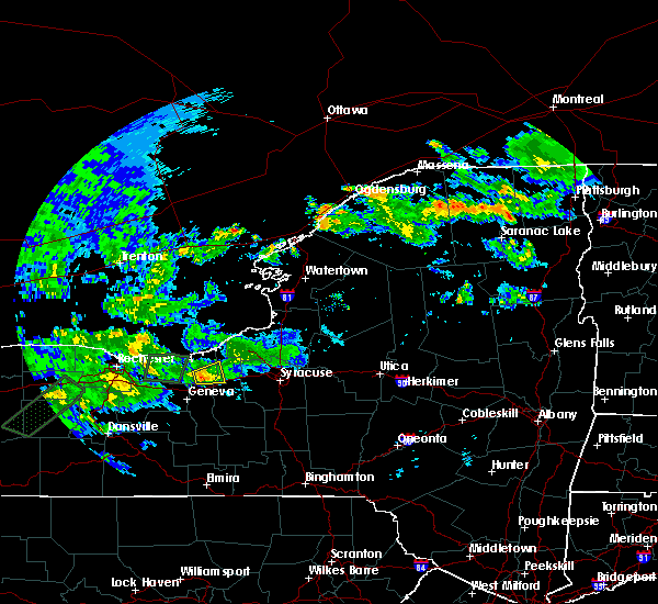 Radar Image for Severe Thunderstorms near Clyde, NY at 8/10/2015 6:09 PM EDT