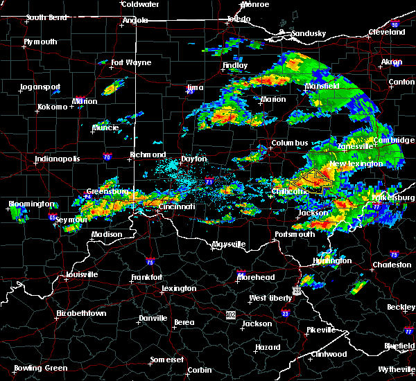 Radar Image for Severe Thunderstorms near Logan, OH at 8/10/2015 6:26 PM EDT