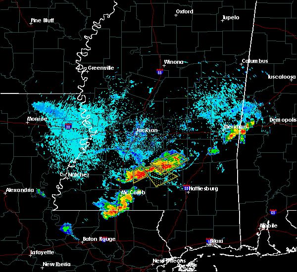 Radar Image for Severe Thunderstorms near Taylorsville, MS at 8/10/2015 6:26 PM CDT