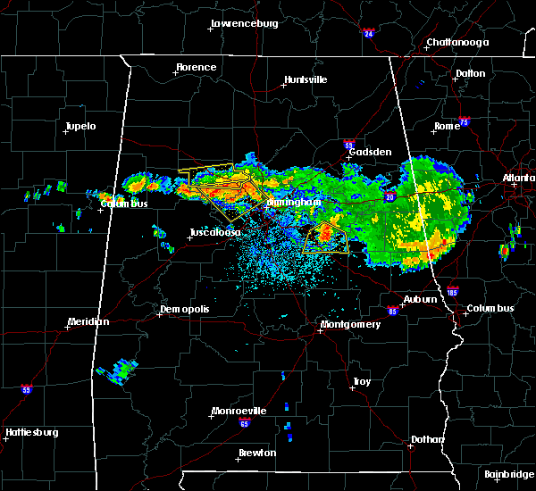 Radar Image for Severe Thunderstorms near Cordova, AL at 8/10/2015 8:14 PM CDT