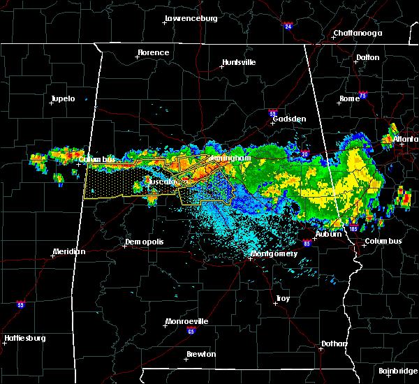 Radar Image for Severe Thunderstorms near Ethelsville, AL at 8/10/2015 8:59 PM CDT