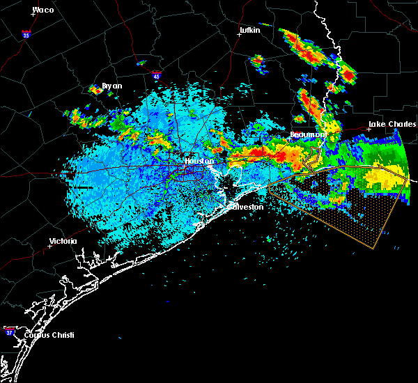 Radar Image for Severe Thunderstorms near Channelview, TX at 8/11/2015 5:21 PM CDT