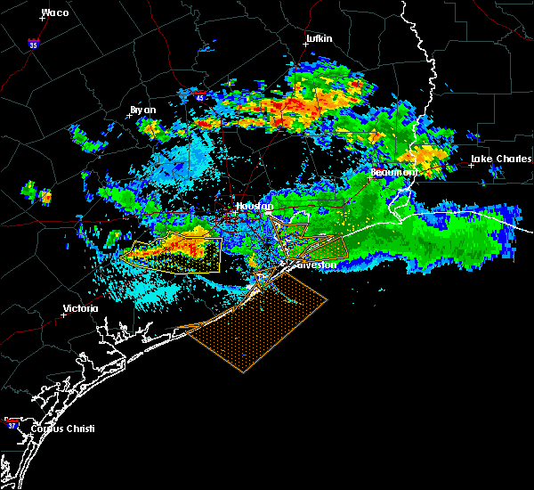 Radar Image for Severe Thunderstorms near Alvin, TX at 8/11/2015 7:23 PM CDT