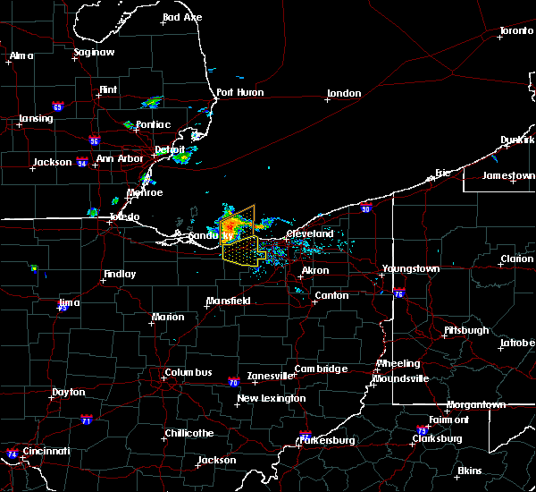 Radar Image for Severe Thunderstorms near Oberlin, OH at 8/11/2015 8:43 PM EDT