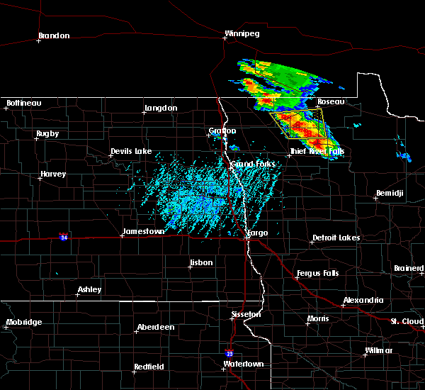 Radar Image for Severe Thunderstorms near Middle River, MN at 8/12/2015 3:37 PM CDT