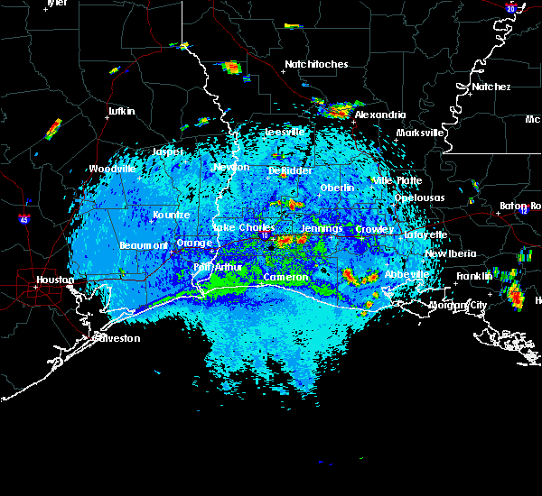 Radar Image for Severe Thunderstorms near Lake Charles, LA at 8/12/2015 4:14 PM CDT