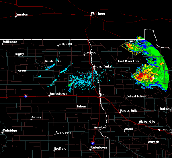 Radar Image for Severe Thunderstorms near Solway, MN at 8/12/2015 5:43 PM CDT