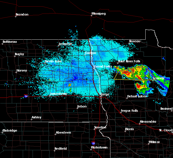 Radar Image for Severe Thunderstorms near Solway, MN at 8/12/2015 10:23 PM CDT