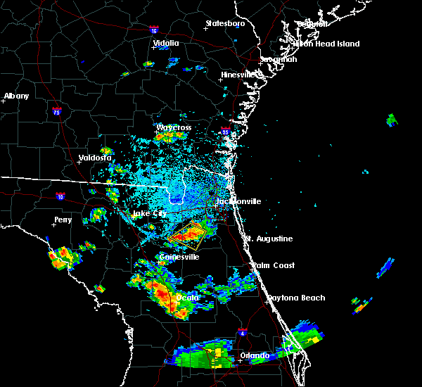 Radar Image for Severe Thunderstorms near Asbury Lake, FL at 8/13/2015 4:09 PM EDT