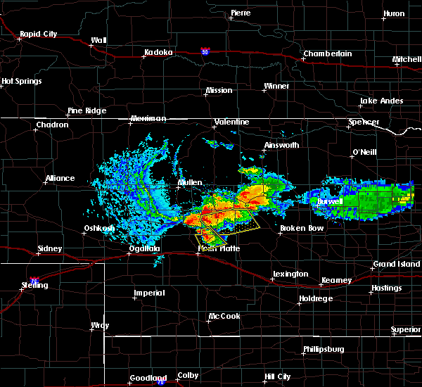 Radar Image for Severe Thunderstorms near Arnold, NE at 8/13/2015 7:28 PM CDT