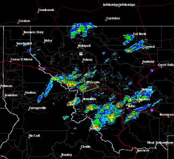 Radar Image for Severe Thunderstorms near Piltzville, MT at 8/14/2015 3:41 PM MDT