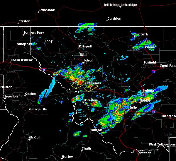 Radar Image for Severe Thunderstorms near Piltzville, MT at 8/14/2015 4:01 PM MDT