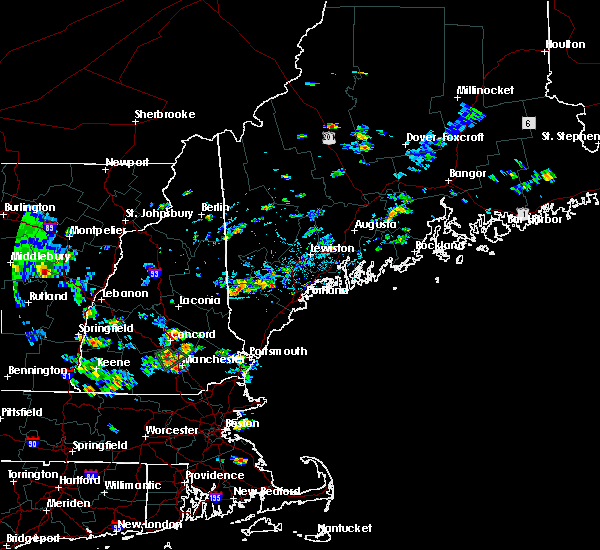 Radar Image for Severe Thunderstorms near Standish, ME at 8/15/2015 3:51 PM EDT