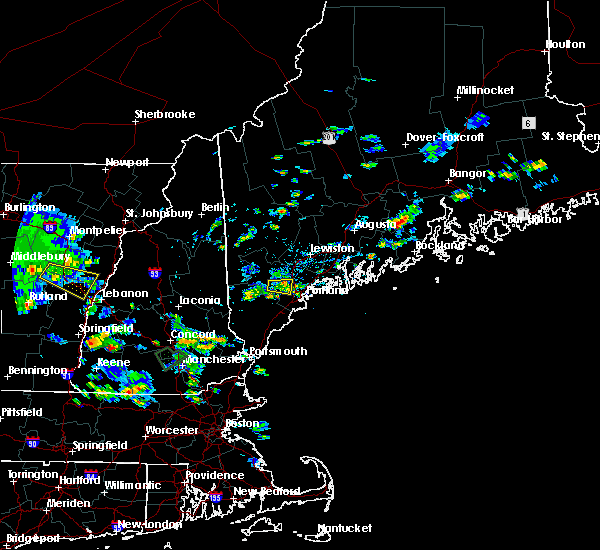 Radar Image for Severe Thunderstorms near Standish, ME at 8/15/2015 4:23 PM EDT