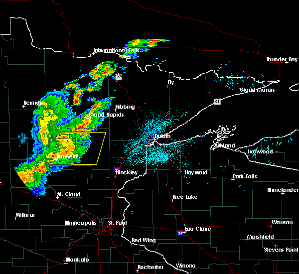 Radar Image for Severe Thunderstorms near Deerwood, MN at 8/16/2015 1:50 AM CDT