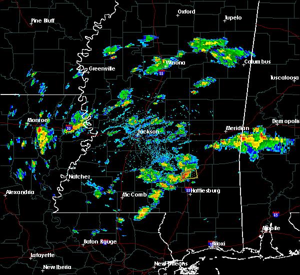 Radar Image for Severe Thunderstorms near Ellisville, MS at 8/17/2015 5:03 PM CDT