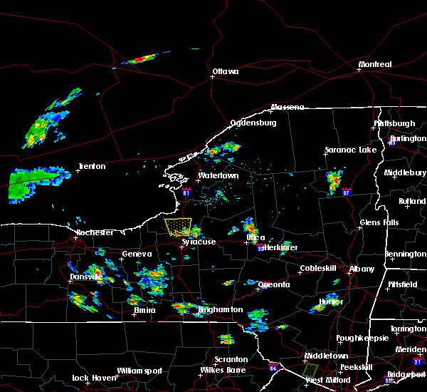 Radar Image for Severe Thunderstorms near Brewerton, NY at 8/18/2015 3:00 PM EDT