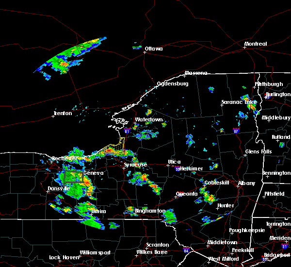 Radar Image for Severe Thunderstorms near Minetto, NY at 8/18/2015 4:59 PM EDT