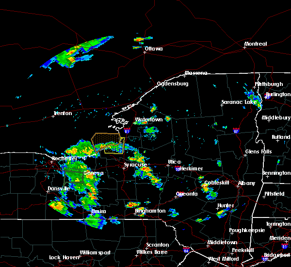 Radar Image for Severe Thunderstorms near Minetto, NY at 8/18/2015 5:25 PM EDT