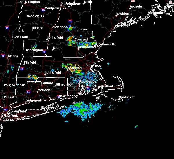 Radar Image for Severe Thunderstorms near Framingham, MA at 8/18/2015 6:07 PM EDT