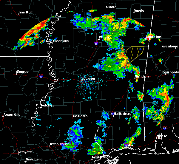 Radar Image for Severe Thunderstorms near Bogue Chitto, MS at 8/19/2015 3:18 PM CDT